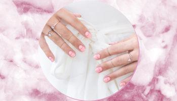 Ідеї дизайну манікюру у ніжно-рожевих відтінках. Актуально у 2020 році!