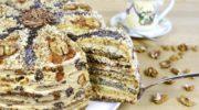 Торт «Дамський каприз» і як його приготувати. Просто дивовижний, дуже смачний!
