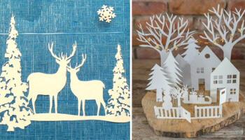Зимові композиції в садок та школу. 25 ідей