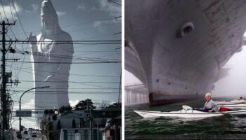 Кадри з паралельної реальності: 17 фотографій справжніх гігантів з різних куточків світу