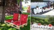 20 ідей меблів із EUR-палет та ящиків