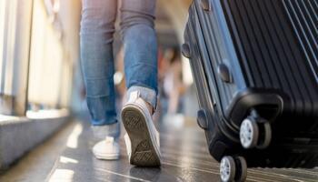 Одного разу повертаючись додому з відпочинку я переплутала багаж і забрала чужу валізу