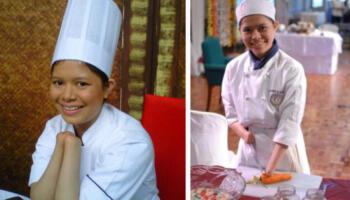 В 11 років вона втратила обидві руки, а згодом стала відомим філіпінським шеф-кухарем