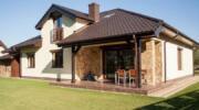 Гарне оформлення фасаду будинку: добірка лаконічних одноповерхових проектів